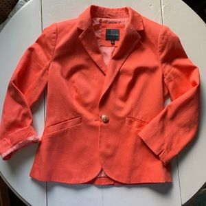 The Limited coral blazer XS NWOT